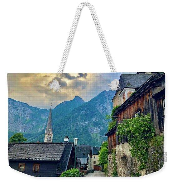 Hallstatt Village Stroll Weekender Tote Bag