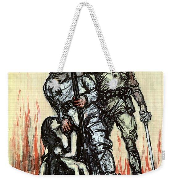 Halt The Hun - Ww1 Weekender Tote Bag
