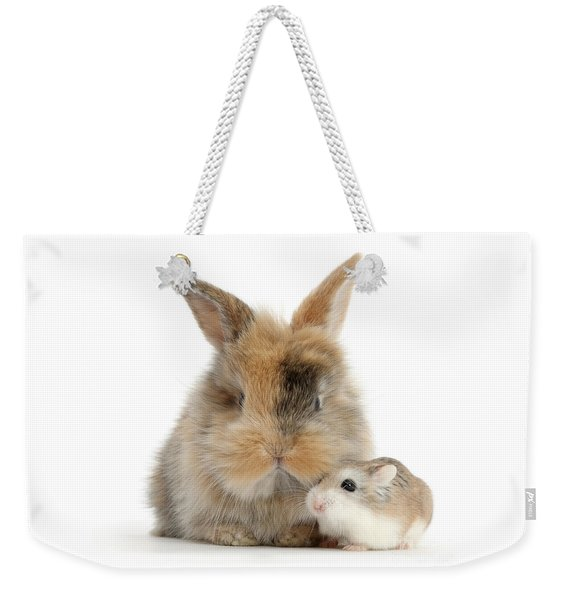 Ham And Bun Weekender Tote Bag