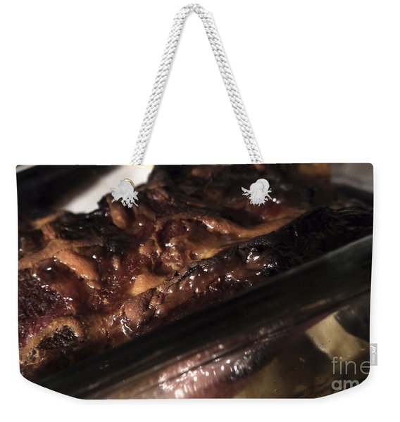 Ham And Potatoes Weekender Tote Bag