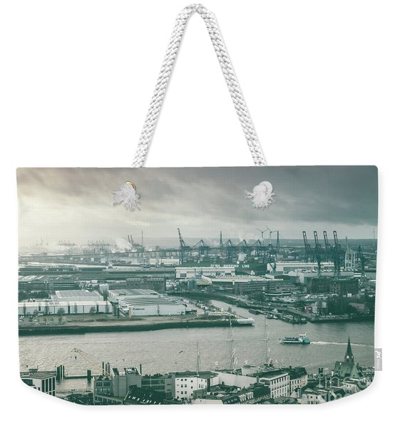 Hamburg Port  Weekender Tote Bag