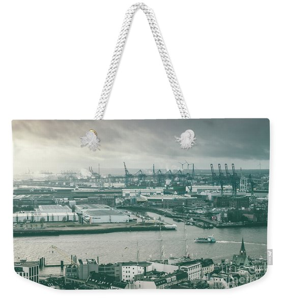 Hamburg Port  Weekender Tote Bag