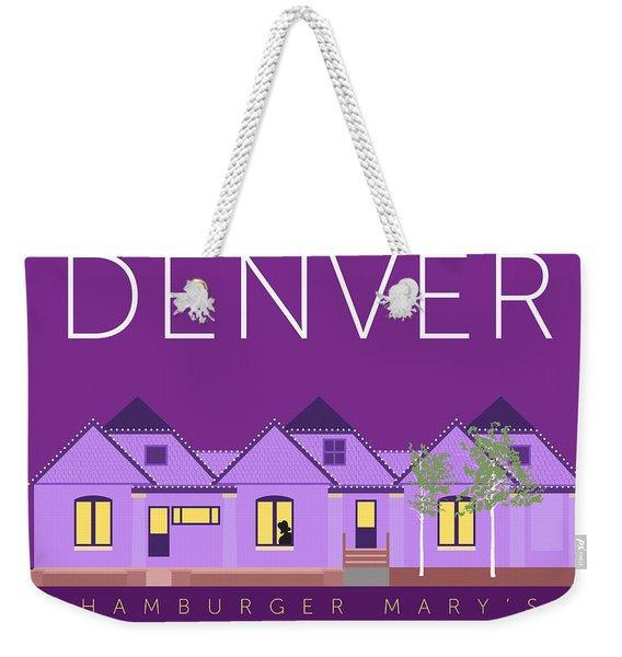 Hamburger Mary's Weekender Tote Bag
