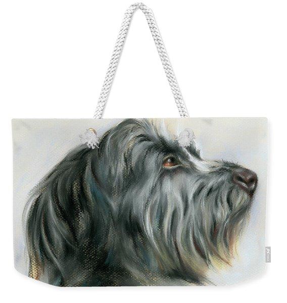 Hamish The Wolfhound Weekender Tote Bag
