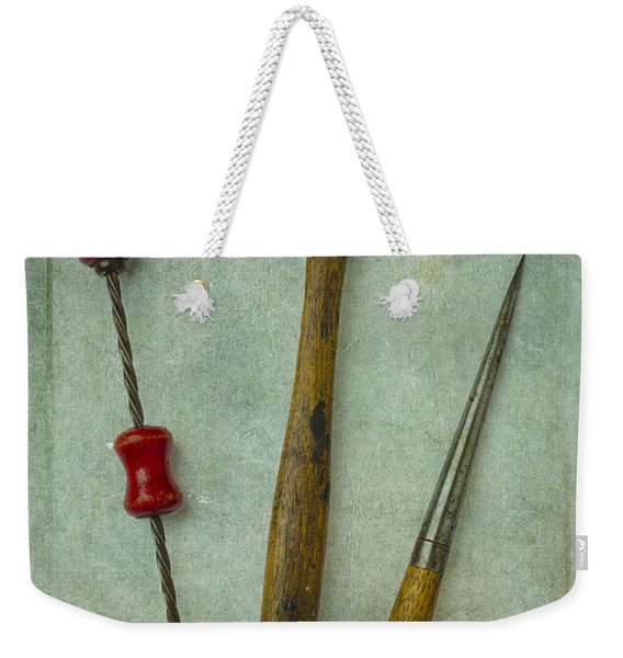 Hammer Drill And Punch Weekender Tote Bag