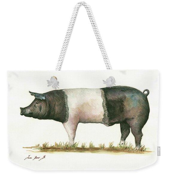 Hampshire Pig Weekender Tote Bag