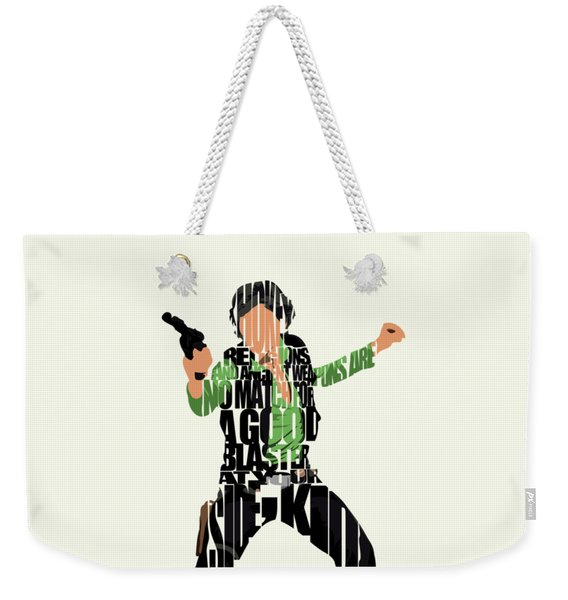 Han Solo From Star Wars Weekender Tote Bag