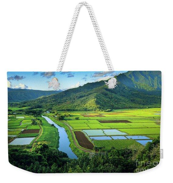 Hanalei Valley Weekender Tote Bag