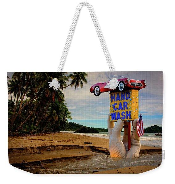 Hand Wash Weekender Tote Bag