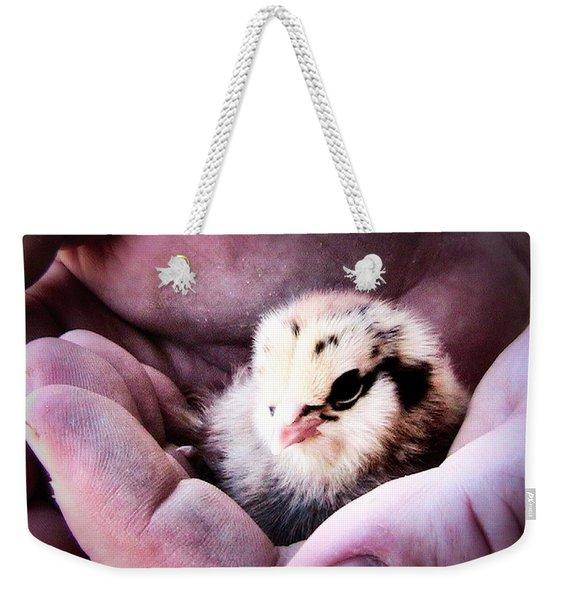 Handle With Care Weekender Tote Bag