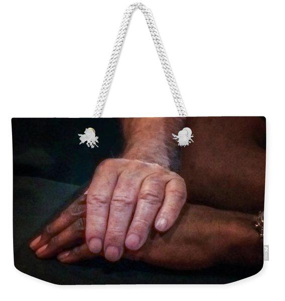 Hands For Marian Weekender Tote Bag