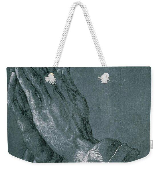Hands Of An Apostle Weekender Tote Bag