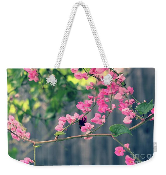 Hang On Weekender Tote Bag