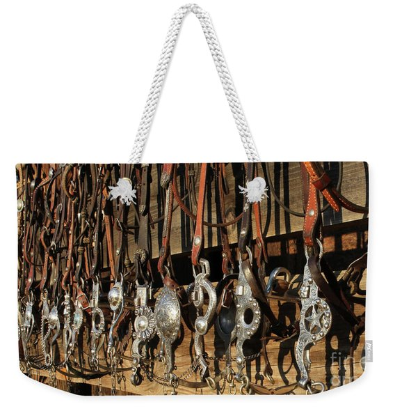 Hanging Bits Weekender Tote Bag