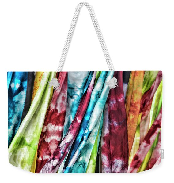 Hanging Color Weekender Tote Bag