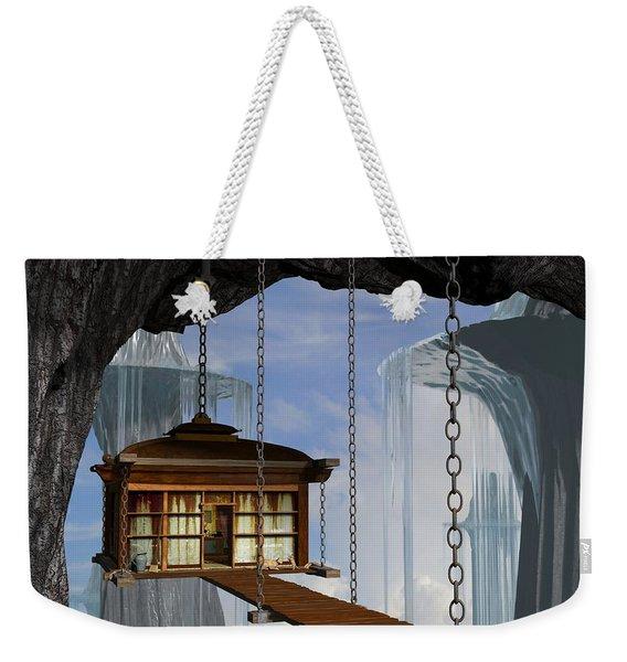 Hanging House Weekender Tote Bag
