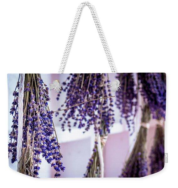 Hanging Lavender Weekender Tote Bag