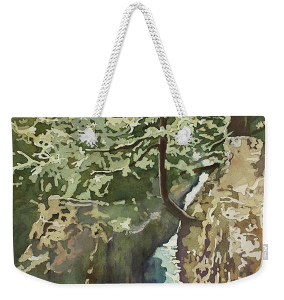 Hanging Out At Opal Creek Weekender Tote Bag