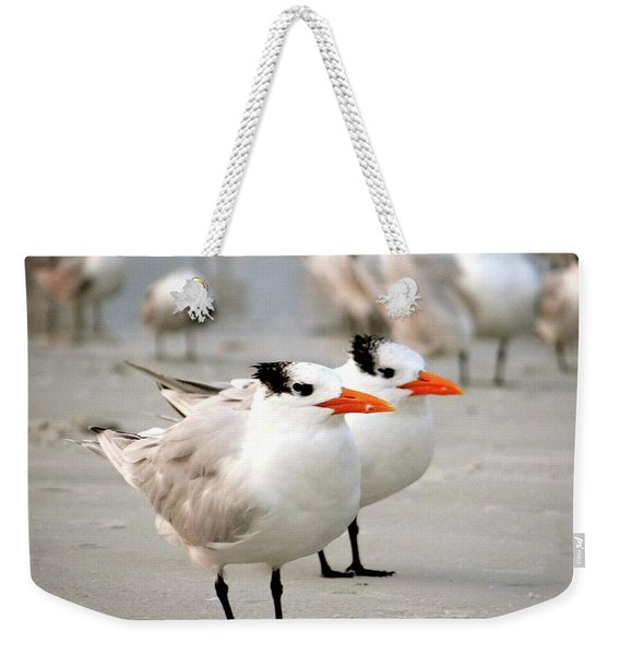 Hanging Out On The Beach Weekender Tote Bag