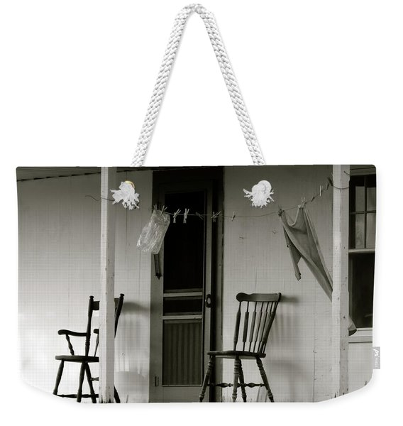Hanging Out On The Porch Weekender Tote Bag
