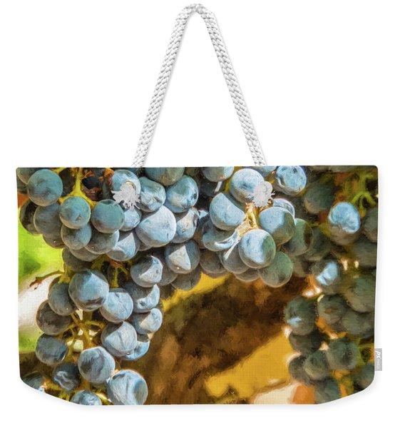 Hanging Wine Weekender Tote Bag