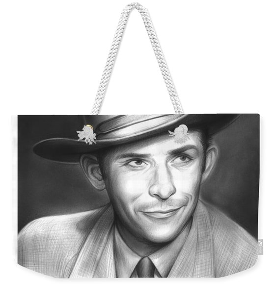 Hank Williams Weekender Tote Bag