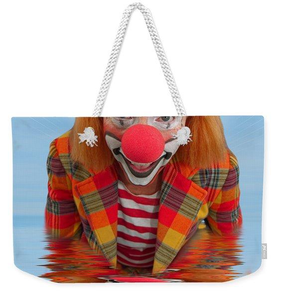 Happy Clown A173323 5x7 Weekender Tote Bag