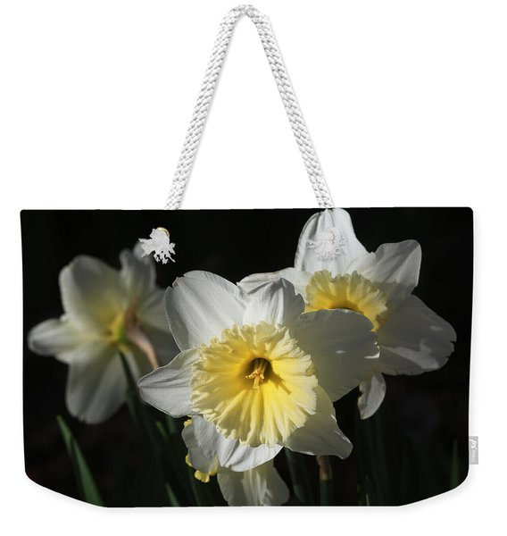 Happy Daffy Weekender Tote Bag