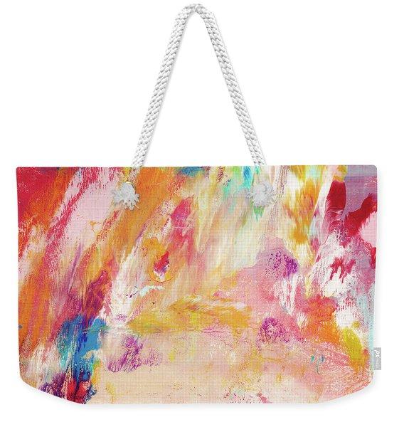 Happy Day- Abstract Art By Linda Woods Weekender Tote Bag