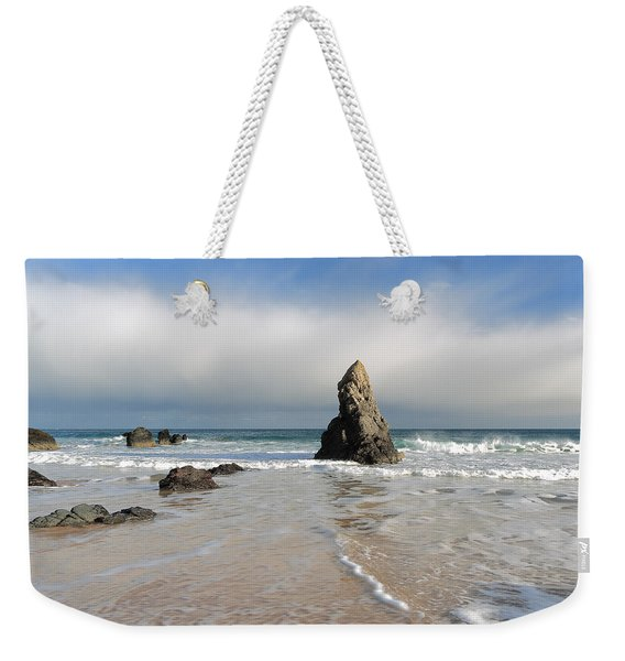 Happy Day On Sango Bay Weekender Tote Bag