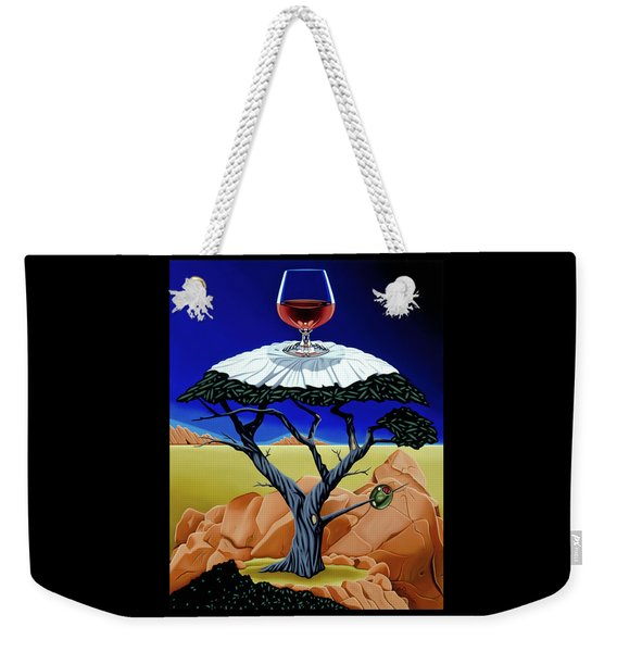 Happy Hour At The Midreal Cypress Weekender Tote Bag