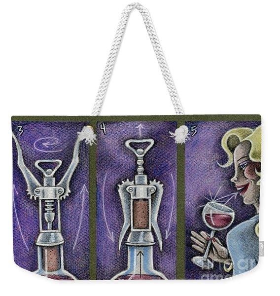 Happy Hour Calisthenics Weekender Tote Bag