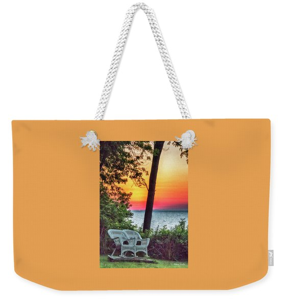 Happy Hour Weekender Tote Bag