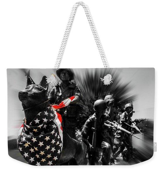 Happy Memorial Day  Weekender Tote Bag
