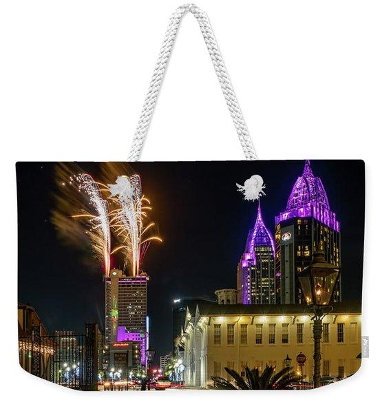 Happy New Year Weekender Tote Bag