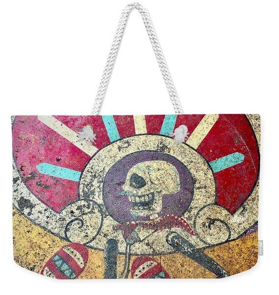 Happy Skull Weekender Tote Bag