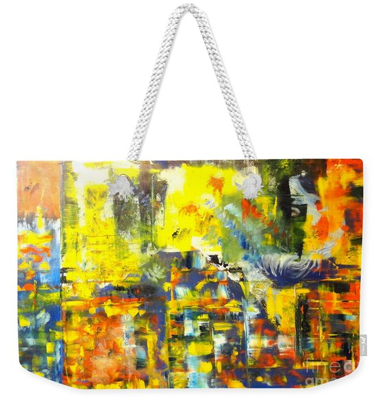 Happyness And Freedom Weekender Tote Bag