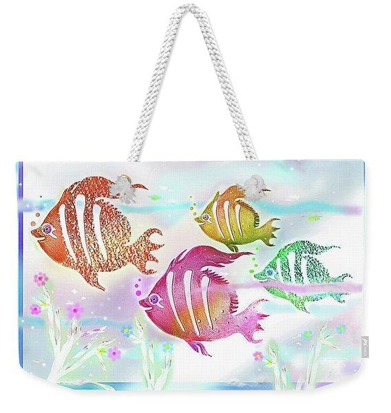 Happiness Is A Clean Ocean  Weekender Tote Bag