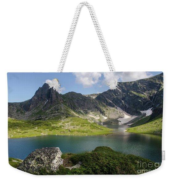 Haramiya Mountain-twin Lake-1 Weekender Tote Bag