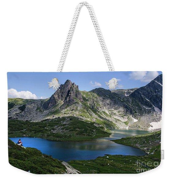 Haramiya Mountain-twin Lake-2 Weekender Tote Bag