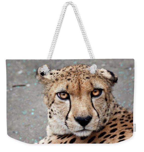 Harbin Leopard Weekender Tote Bag