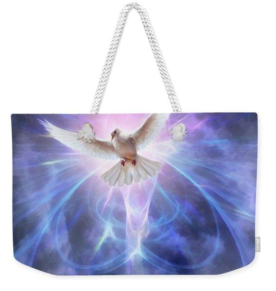 Harbinger II #fantasy #fantasyart Weekender Tote Bag