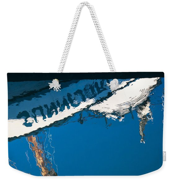Harbor Blue Weekender Tote Bag