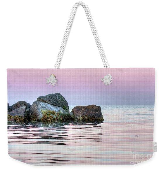 Harbor Breakwater Weekender Tote Bag