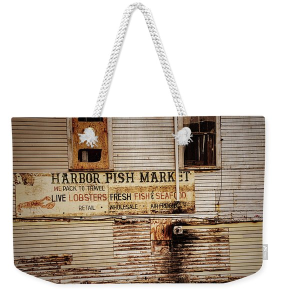 Harbor Fish Market Weekender Tote Bag