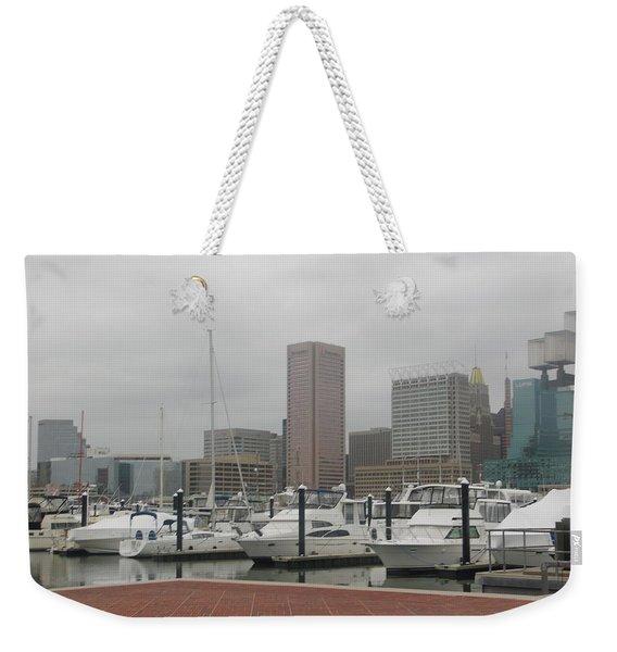 Harbor Happiness Weekender Tote Bag