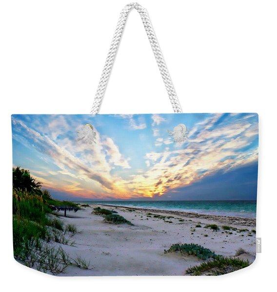 Harbor Island Sunset Weekender Tote Bag