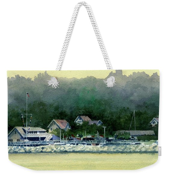 Harbor Master, Port Washington Weekender Tote Bag