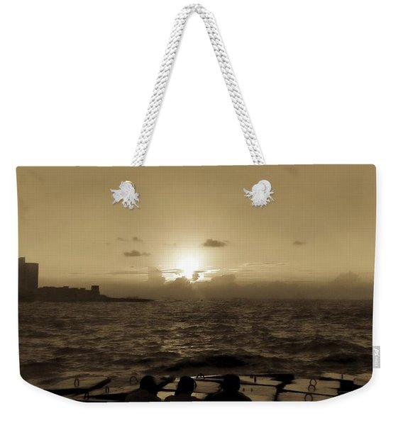 Harbour, Alexandria, Egypt Weekender Tote Bag