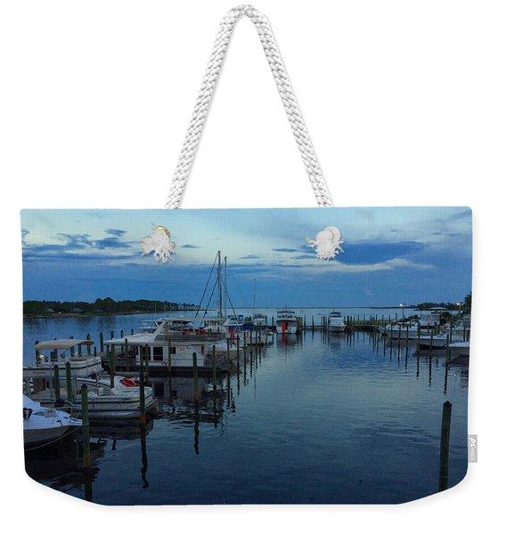 Harbour Nights Weekender Tote Bag